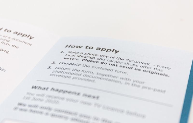 use of copywriting for a company brochure