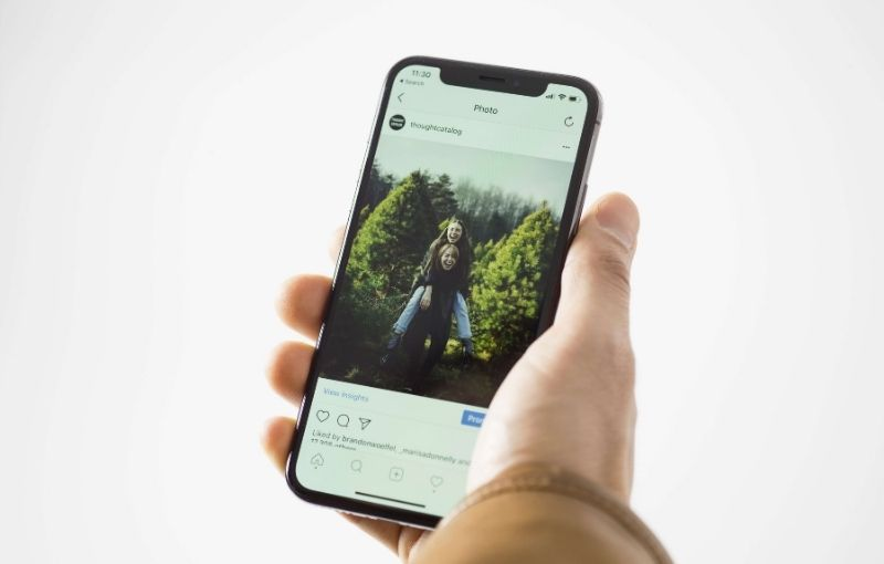 instagram ads for on a mobile device for small business